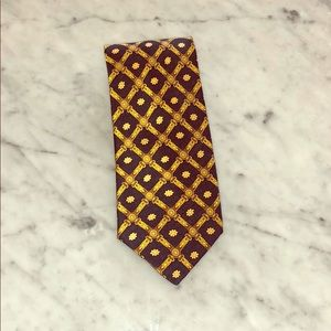 Hermès Men's Tie 100% Silk